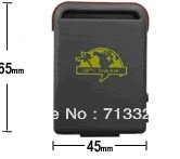 Dropshipping ! GPS Tracker Mini Global Real Time 4 Bands GSM/GPRS TK102-2 gps Tracking device for personal , car and pet