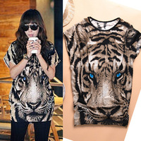 arrival loose t-shirt female short-sleeve summer mm plus size personalized print 100% cotton t shirt female Free Shipping