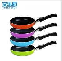 newly Mini non-stick pan small frying pan fry pan omelette pan smokeless wok
