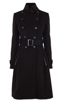 Free Shipping 2013 spring british style stand collar long-sleeve double breasted fashion overcoat