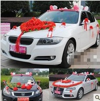 The latest wedding Wedding floats wedding car decoration Set