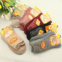 Wool socks rabbit fur socks far infrared thermal thickening