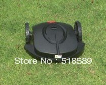 robot/auto lawn mower/automower,  grass cut height: 2.5-6.5cm, auto work/recharge,with remote control/ultrasonic radar