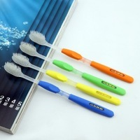 fedex free shipping The new quality round head nano toothbrush white hair crystal edition 1600pcs=400pack