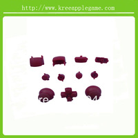 Red Buttons Mod Kits For PS3 Controller
