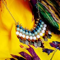 wholesale 5pcs/lot Skirt bohemia handmade beaded necklace beach