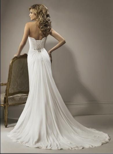 Свадебное платье платье со шлейфом