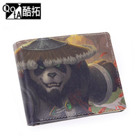 [ANYTIME] Fashion dota MAOREN cartoon wallet personalized doodle wallet male bags