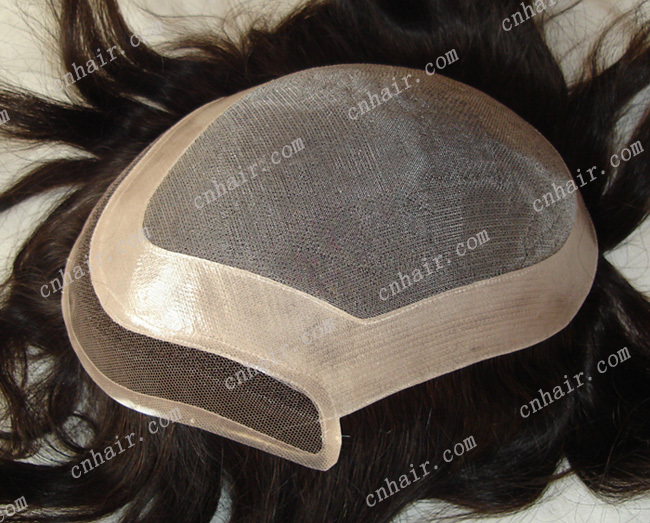 natural looking men&#39;s toupee, size: 6x9(China (Mainland))