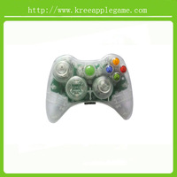 Replacement full Housing Shell set for XBOX 360 wireless Controller - Clear