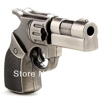FREE SHIPPING! 8GB Metal Revolver Gun Novelty USB Flash Drive/Memory Stick/Pen/Gift/Present/Stocking