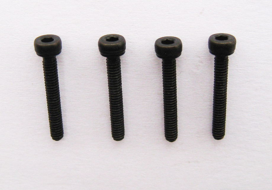 100PCS M2 x 10 BLACK SOCKET CAP HEAD SCREW ALLEN BOLTS 12.9 GRADE(China (Mainland))