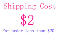 Shipping Charge for order less than USD20