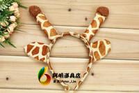 free shipping 6pcs/lot 23g cartoon animal headband hair accessory hair bands supplies ear hair bands