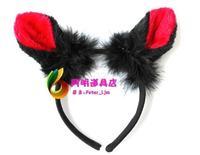 free shipping 6pcs/lot 25g masquerade halloween party supplies animal headband cartoon headband hair bands - cat ears headband