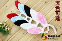 free shipping 28 animal hair accessory props rabbit ear hair accessory headband hair pin hair bands plush rabbit ear rabbit lady