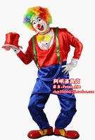 free shipping Clown clothes the jester clown clothes clown costumes clown costume clown clothes set