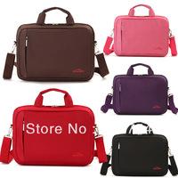 Brief elegant sets trolley luggage 14 15 male women's laptop bag handbag laptop bag