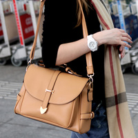 HOT!!!2013 women's handbag preppy style one shoulder cross-body women's handbag bag faux bags free shipping