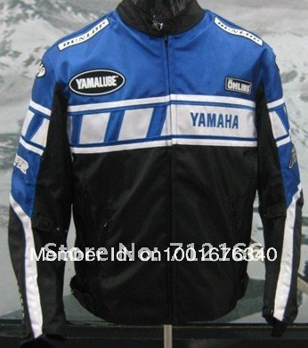 Shop For Best quality motorcycle Racing Oxford Nylon Jacket with protection.Motor team Motocross,motorbike,Cycling clothing Blue(China (Mainland))