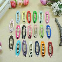 Mix colors 50pcs  5cm DIY hair Accessory clips Baby girl Raindrop Style Ribbon Hair Bows Clip hairband BBGX-1