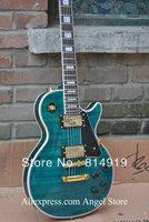 China Guitar custom shop blue electric guitar free shipping
