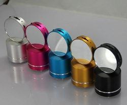 Magic mirror style mini vibration speaker with FM radio&micro SD functions(China (Mainland))