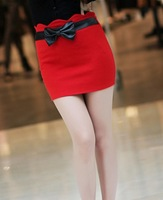 free shipping new desgin spring womens skirts 2013,red color mermaid skirt,fashion above the knee skirts