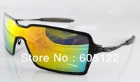 2013 New Probation Men&#39;s Designer Sunglass Metal Frame Sunglasses Aviation Eyewear black frame black earsocks polarized lens