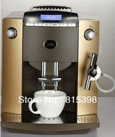 Automatic Italian Espresso Coffee Machine,Latte Coffee Maker+LCD+10 languages function