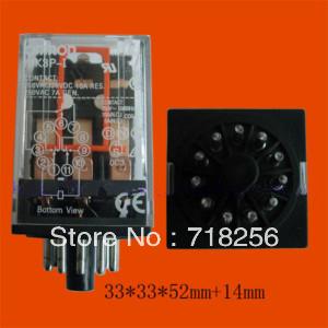 OMRON MK3P-I AC 220V 11PIN 250VAC 28VDC Power Relay