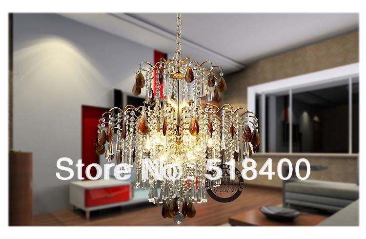 raccomandato di marca nuovo arrivo moda di lusso salotto luce del pendente di cristallo lampadario illuminazione 85 centimetri diametro