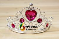 free shipping 6pcs/lot 22g birthday hat queen princess crown hair bands headband hair accessory