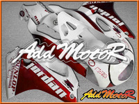 NEW HOT FAIRING KITS Fit RGV250 VJ23 97-98 Red White Fairing ZZ1009