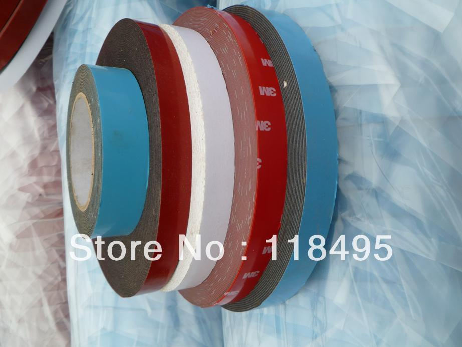 The car tires hub paste balance block special double-sided tape ( white and blue, 3M, Norton ) Volume 2 60 meters(China (Mainland))