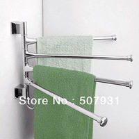Free Shipping Stainless Steel Bathroom Kitchen Hardware Accessory Towel Polished Rack Holder