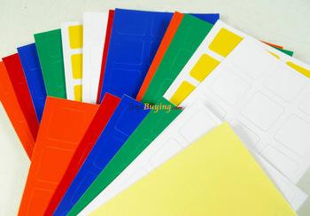 wholesale 50set/lot 5.7cm 3x3 cube pvc sticker for dayan zhanchi,dayan guhong,dayan panshi,fangshi funs puzzle.+free shipping