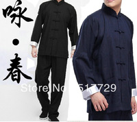 Bruce Lee Vintage Chinese wing chun Kung Fu Uniform Martial Arts Tai Chi Suits High Quality Size M-XXXL