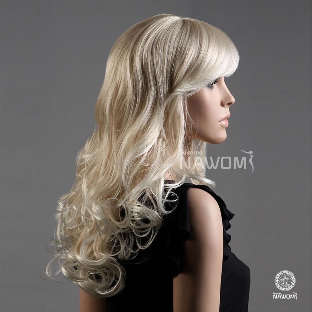 White Blonde Wigs 25
