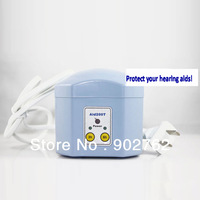 Electronic hearing aid dry case dryer with timer free shipping hearing aid dry box