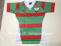 wholesale Sublimated custom rugby jerseys(China (Mainland))