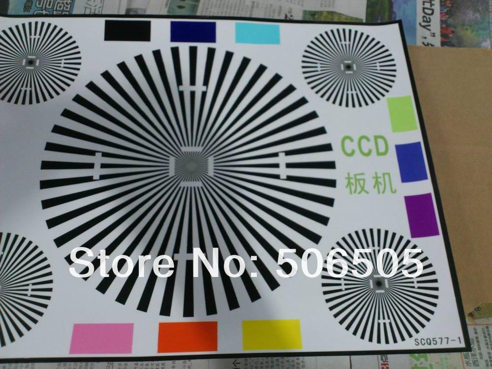 Camera Test Card Camera Focusing Test(china