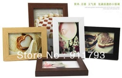 Free shipping wholesale retai Home Decorative color Photo Picture Display Frame New special children&#39;s Gift, wooden creative(China (Mainland))