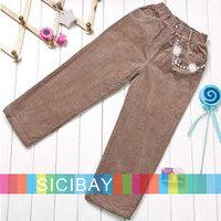 Cute Free Shipping Girls Cozy Pants Beauty Lovely Trousers K0310