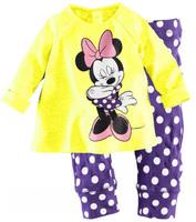 2013 pijama children's Pajamas 2PCS Set pijamas kids Free Shipping baby pajamas clothing set Sleepwear