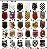 silk like small fashion bow tie 20pcs/lot free shipping bib with tie,cute jacquard Children Ties