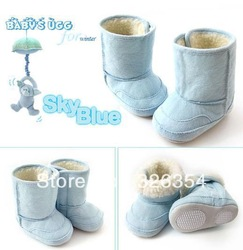 Baby boys snow boots girls booties boys shoe Infant winter boot children&#39;s shoes first walker(China (Mainland))