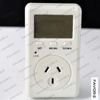 plug-in single phase digital display Current meter,power factor meter - AU plug D02B