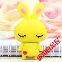 Usb flash drive 16g guaiguai rabbit 16g usb flash drive cartoon girls rabbit usb flash drive
