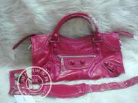 2014 New lace series motorcycle bag women messenger bag bolsas genuine leather bags designer branded 43cm pink rose